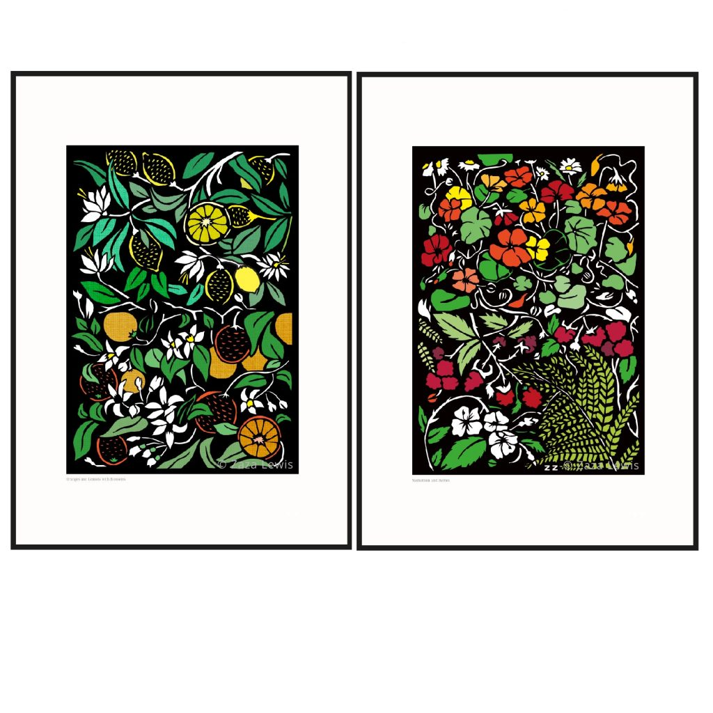 Flowers_fruits_combined_framed