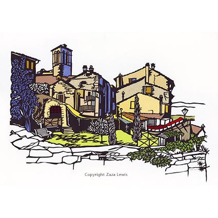 Tuscany Village, Anghiari, Italy