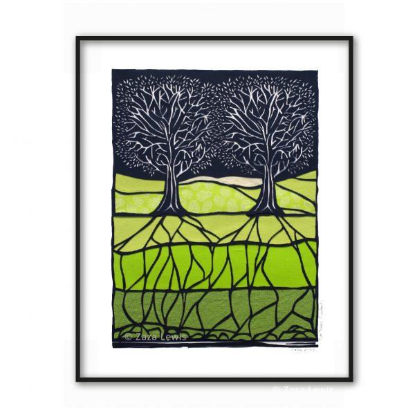2trees_green_framed_web