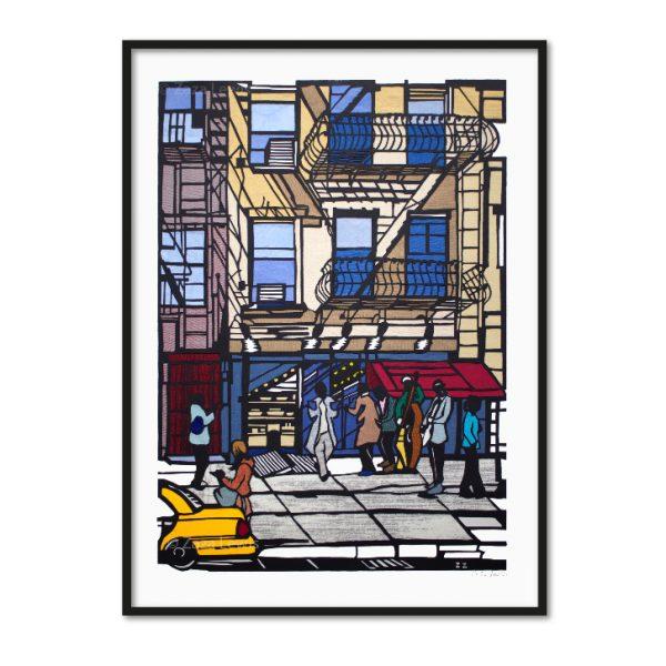 New York revised framed