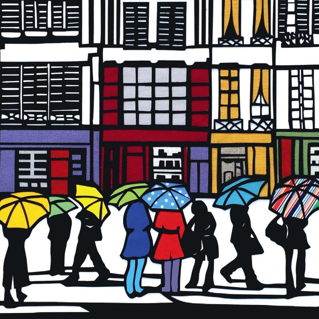 10_Yellow Umbrella