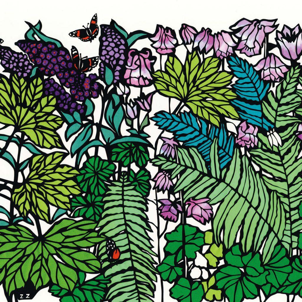 18_Buddlea_butterflies