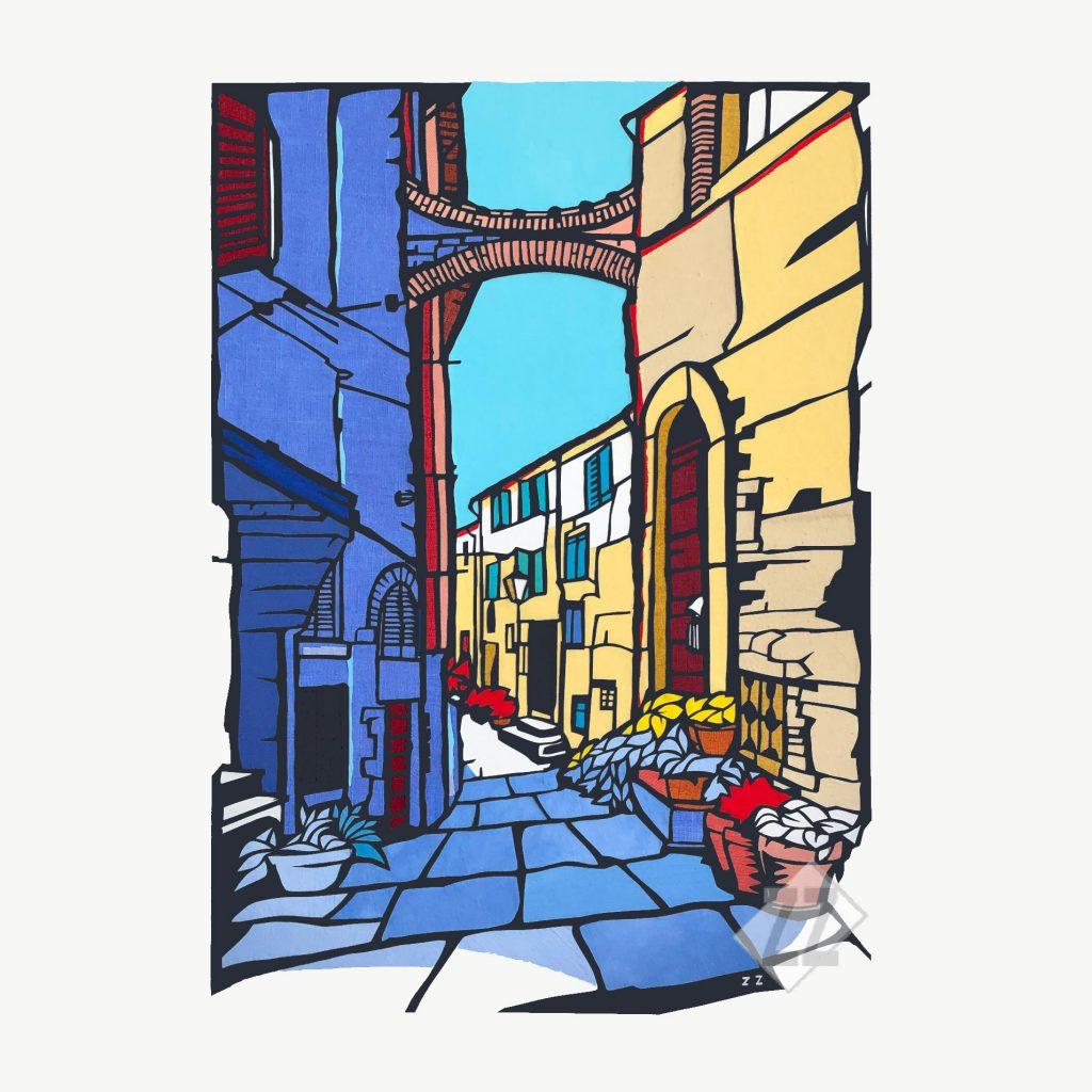 Tuscan-street_Web_unframed